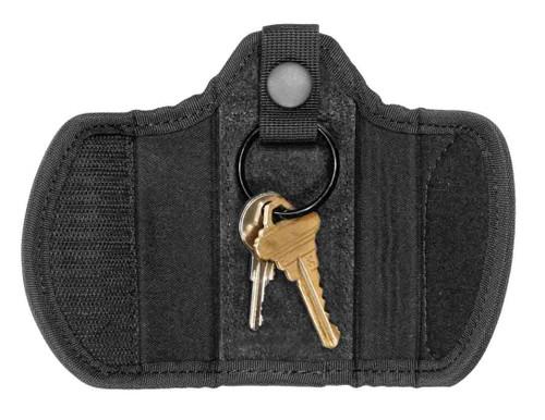 "Ballistic Standard Silent Key Holder, (Fits 2-1/4"" Belt)"