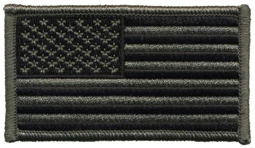 "U.S. Flag Patch, Foliage/ACU, 3-1/4x1-13/16"""