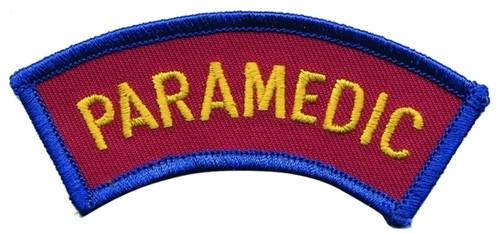 ME - PARAMEDIC Shoulder Patch, Arc, 3-1/2x1-1/8