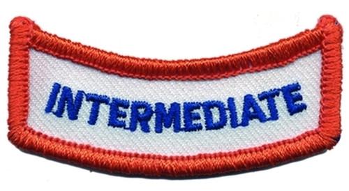 """IL - INTERMEDIATE Shoulder Patch, 2-1/2x3/4"""""""
