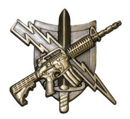 """Center Mass® Tactical Patrol Officer Qualification Pin, 1-1/4x1-1/4"""""""