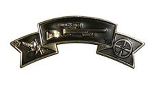 "Center Mass® Police Sniper Qualification Pin, 2x3/4"""