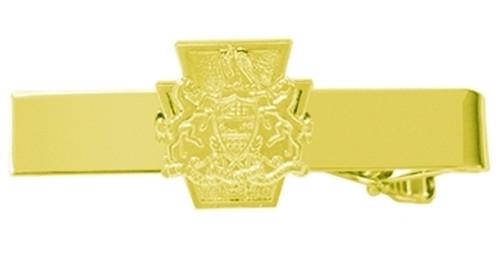 """PA Keystone & Crest Tie Bar, 2x5/16"""""""