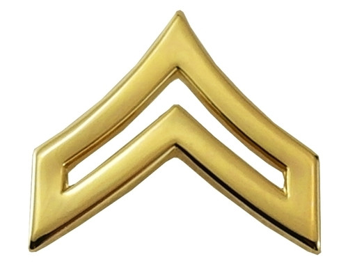 """CPL Chevrons, Tall/Pointy, 2 Posts & Clutch Backs, Pairs, Pointy-3/4"""" Wide"""