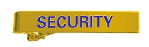 "SECURITY Tie Bar, Enameled, 2x5/16"""