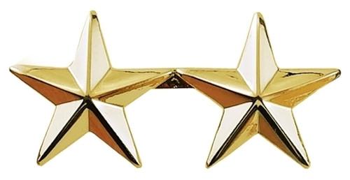 "2 Stars, 2 Posts & Clutch Backs, Pairs, 1"" High"