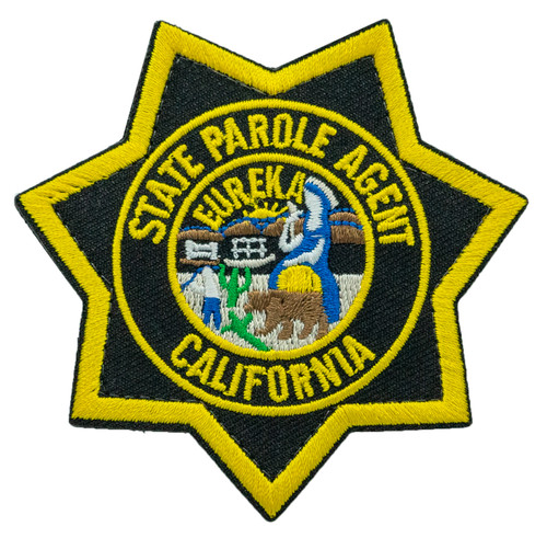CDCR Star Badge Patch