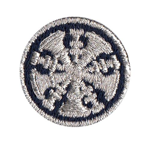 "Chief, 5 Bugles, Collar Insignia, 1"" Circle"