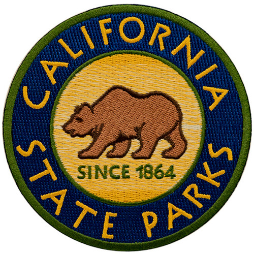CALIFORNIA STATE PARKS Patch Circle
