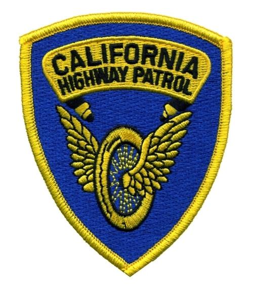 "CALIFORNIA HIGHWAY PATROL Shoulder Patch, 3x3-5/8"""
