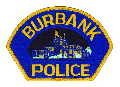 CA BURBANK POLICE Shoulder Patch