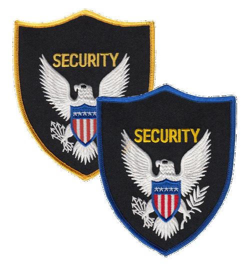 "SECURITY Shoulder Patch, 4x5"""