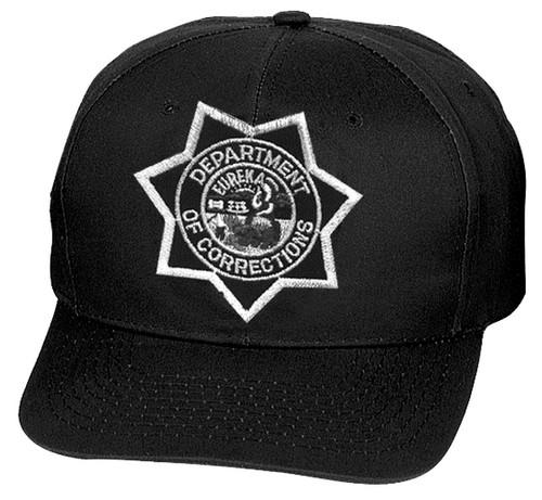 CDC Cap, Star, Black, Adjustable