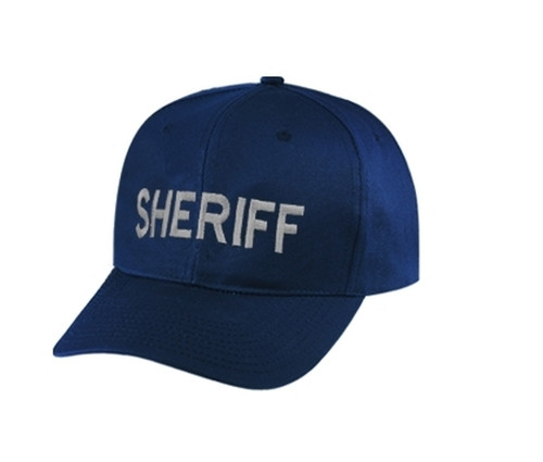 SHERIFF Cap, Silver/Dark Navy, Adjustable