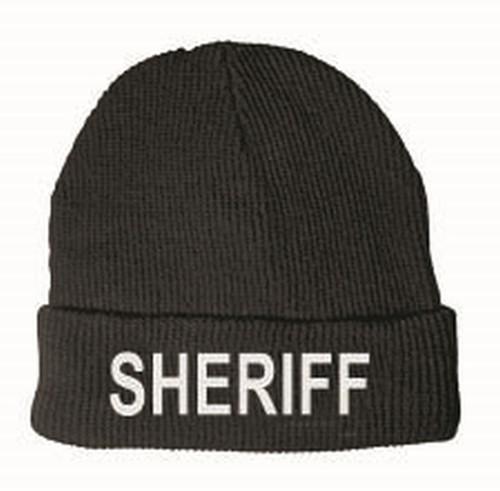 SHERIFF Watch Cap, Fleece, One Size Fits All
