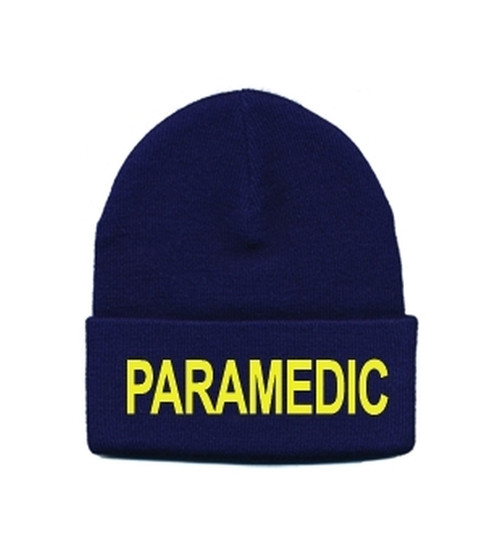 PARAMEDIC Watch Cap, Med Gold/Navy, One Size
