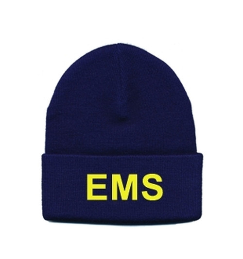 EMS Watch Cap, Med Gold/Navy, One Size