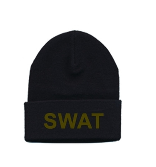 SWAT Watch Cap, O.D./Black, One Size Fits All
