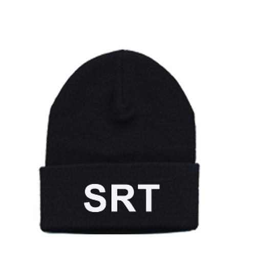 SRT Wathc Cap, White/Black, One Size