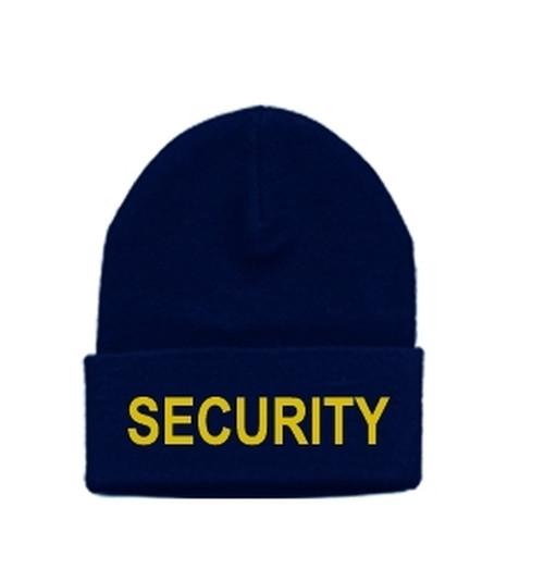 SECURITY Watch Cap, Med Gold/Dark Navy, One Size