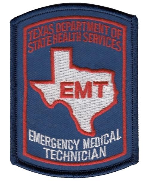 "TEXAS EMT Cap Patch, 2-1/8x3"""