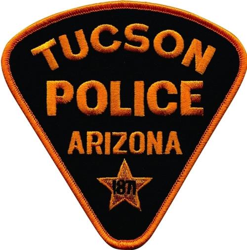 """ARIZONA TUCSON POLICE Patch, 4-1/4x4-1/4"""""""
