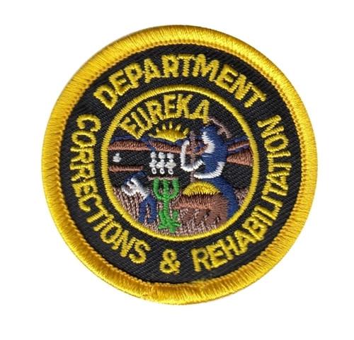 "CA DEPT OF CORRECTIONS & REHABILITATION Patch, 2"" Circle"