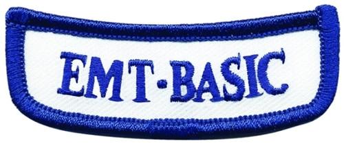 "GA EMT-BASIC Rocker Patch, 2-5/8x1"""