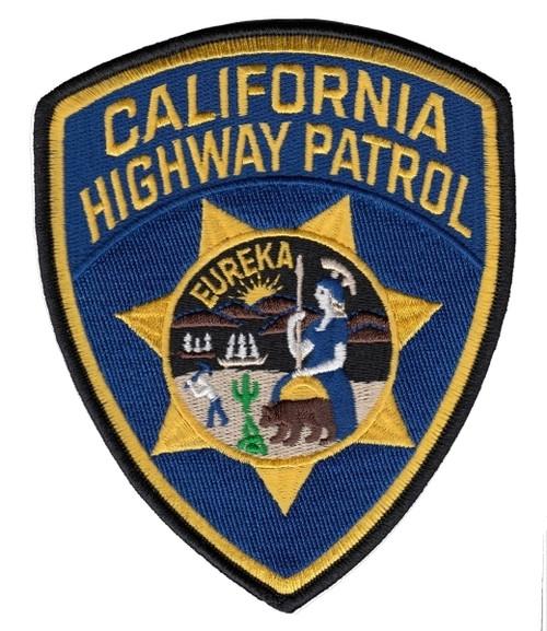 "CALIFORNIA HIGHWAY PATROL Patch, 4x5"""