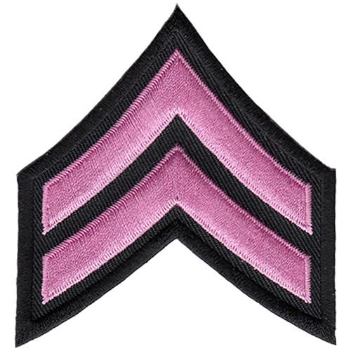 "Pink Line - CPL Chevrons, Pink/Black, 3"" Wide"