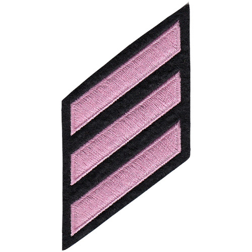 "Pink Line - HASHMARKS - Continuous, Felt, Pink/Black, 2x3/8"" Stripe"