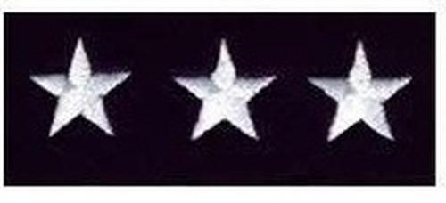 "Stars - Continuous, Felt, White/Dark Navy, 5/8"" Star"