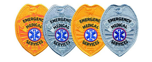 """EMS Badge Patch, 2-1/2x3-1/2"""""""