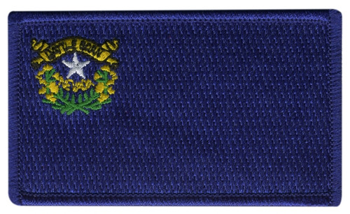 Nevada State Flag Patch, 3-3/8x2