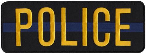 POLICE Back Patch, Hook