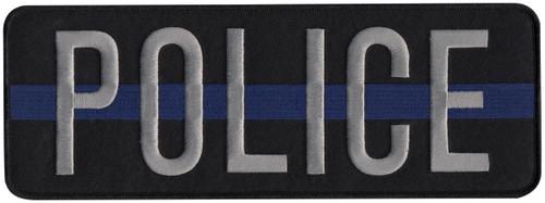 POLICE-Back Patch