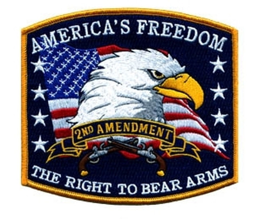 """AMERICA'S FREEDOM Collector Patch, 5x4-9/16"""""""