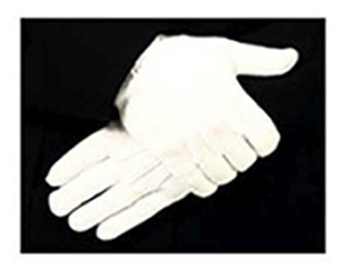 Parade Gloves Sample Set, White, 100% Cotton