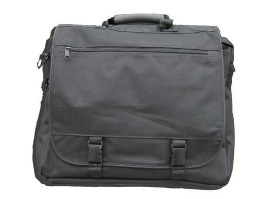 Hero's Pride Nylon Utility Shoulder Bag, Black
