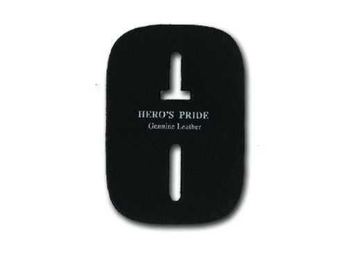 Wallet Badge Holder Insert - Spare, Black