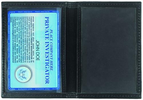 "Double ID Case, Large,  4.5x2.75"" Window"