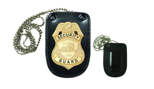 "Universal U Shape Badge Holder, U-Shape, 3x4-1/4"""