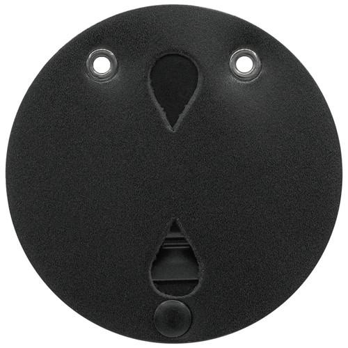"Universal Large Round Badge Holder, Round, 3-1/2"""