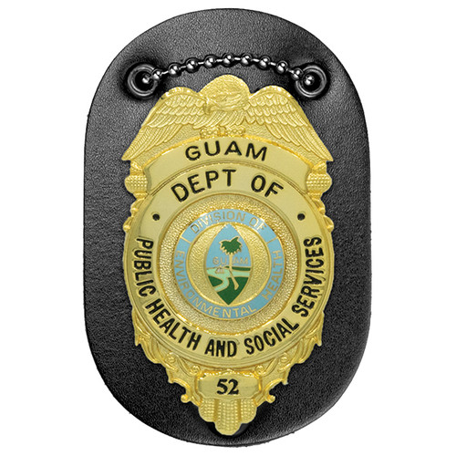 """Universal Oval Badge Holder, Oval, 2-1/2x3-3/4"""""""