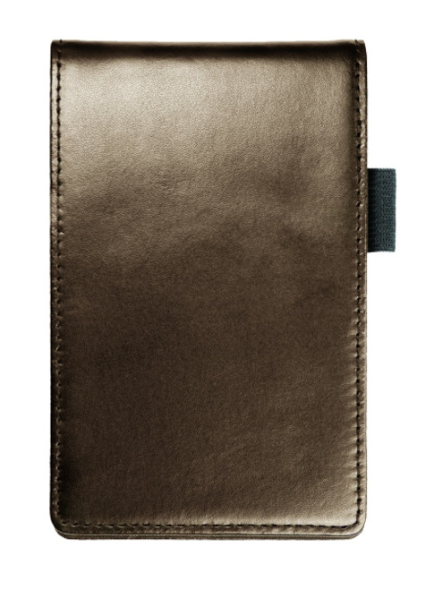 """Leather Notepad Case, Notepad Included, 3-5/8x5-3/4"""""""