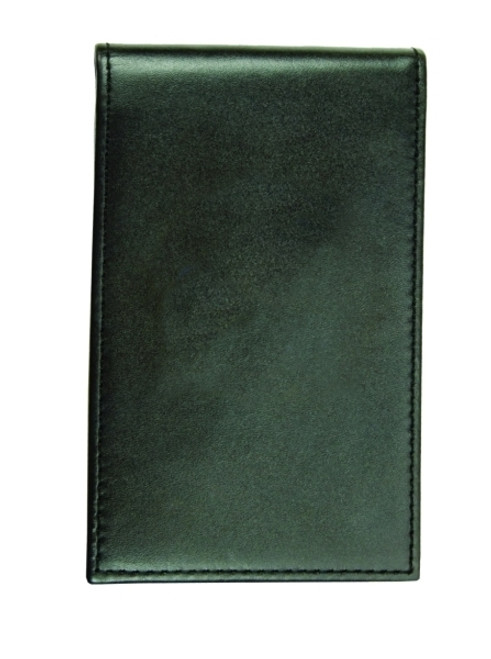 """Leather Notepad Case, Smooth, Notepad Included, 3-3/8x5-1/2"""""""
