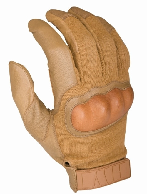 Hard Knuckle Tactical Glove, Coyote Tan
