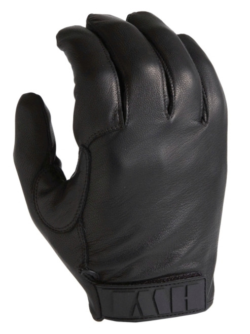 Duty Glove - All-Leather Kevlar-Lined - Black