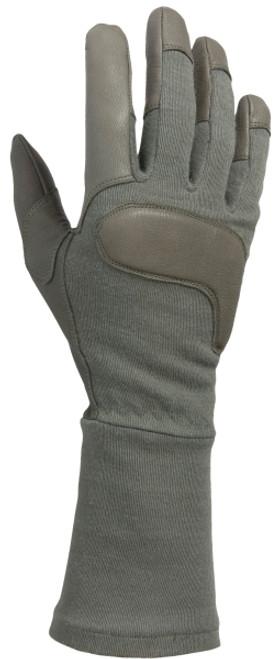 Long Gauntlet Combat Glove, Foliage
