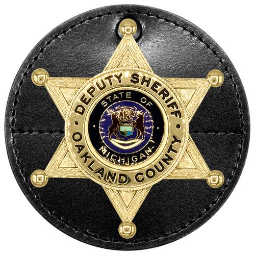 "Universal Round Badge Holder, 3-5/8"""